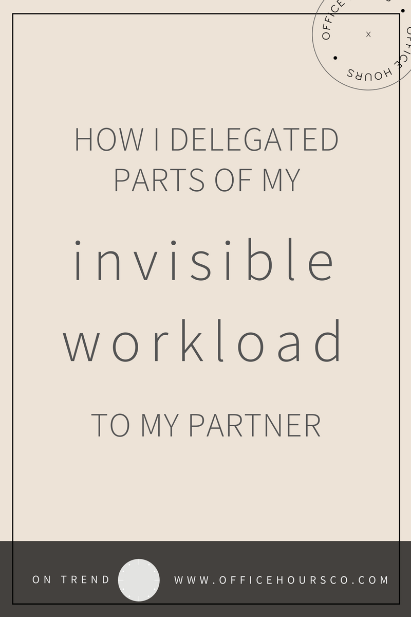 I Delegated My 'Invisible' Workload To My Partner — Here's How